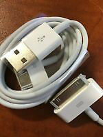 USB-30 pin cable - 100% ORIGINAL iPhone 4/4s Charging Cable