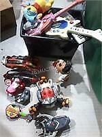 Lot of Asstd Electronic Toys, Action Figures etc