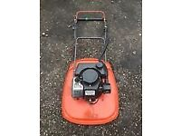WANTED flymo petrol mower .Working or not .