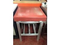 Butcher Block with Stand