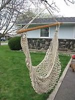 ROPE HANGING SWING -- FROM TREE