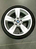 BMW STYLE 189 STAGGERED RIMS AND TIRES, LIKE NEW CONDITION