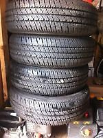 4 Firestone Summer Tires Fits 2005 Toyota CE