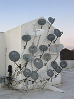 SAT.CABLE - BELL HD DISH + PARTS- SAT. FINDER