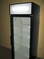USED GLASS DOOR REFRIGERATORS - 1 - 2 AND 3 DOOR UNITS- WARRANTY