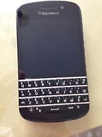 BlackBerry Q 10 brand new condition factory unlocked all network