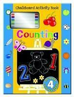 Counting (Chalkboard Activity Book) New Hardcover Book Martin Ellick