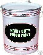 Blue Floor Paint
