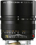 Leica  Apo-Summicron-M Aspherical 75 mm - 75 mm 2  Lens For Leica