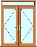 Upvc French Doors Rosewood