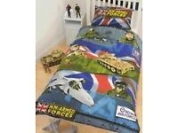 HM ARMED FORCES DUVET COVER