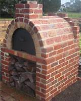 Wood Fired outdoor Pizza Oven - DIY or have it installed.