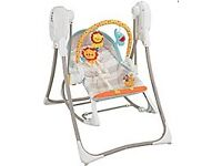 Fisher Price 3in 1 Rocker Baby Swing