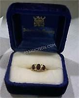 9k Yellow Gold Ladies Custom Made Ring APP - Worth $900