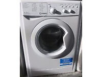 INDESIT WASHER DRYER - 6KG - 1400 SPIN SPEED - FULL GUARANTEE - WILL DELIVER