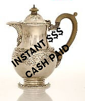 Will pay around $200-$850 for your Sterling Silver Water Pitcher