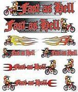 BMX Bike Stickers
