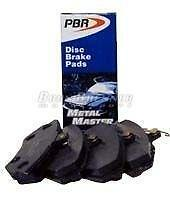 PBR Metal Master disc Brake Pads for a 1984 BMW 318i London Ontario image 1