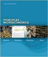 Principles of Microeconomics: 4th Canadian Edition (used)