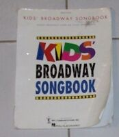 Kids Broadway Song book for sale