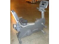 Life Fitness Recumbent Cycle 93R silverline commercial only £300 VGC