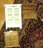 Solid wood doll furniture for sale