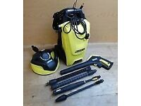 K4 Karcher Pressure Washer 130 bar 1800 watt Compact Home Car Cleaning, Patio or Deck cleaning unit