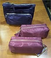 Lot of 3 NEW Sonia Kashuk Makeup Bags - Worth $50