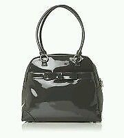 Lulu Guinness patent leather bag