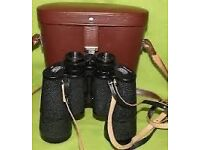 CARL ZEISS JENA JENOPTEM 10 X 50W MULTI-COATED BINOCULARS MADE IN DDR WITH CASE