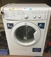 Indesit 8kg A+ washing machine