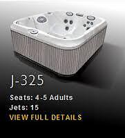 Jacuzzi Hot Tubs Whitby 2015 floor model clearance J-325