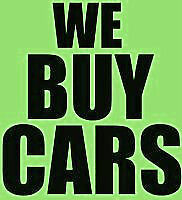 I Buy Unwanted/Old Cars call/text (647)717-6676