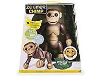 Zoomer chimp monkey paid £80 want £50 as only used once ideal for christmas present