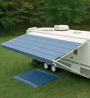 RV CAMPER AWNING HEAVY DUTY 8500/9000+ SIDE ARMS & CENTER ...