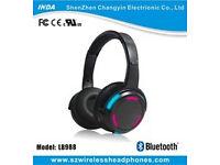 flashing glowing bluetooth headphone wireless