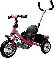 KIDS TRIKE WITH PARENT HANDLE. NEEDS ATTENTION