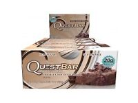 Quest Double Chocolate Chunk Protein Bars - Whole Box