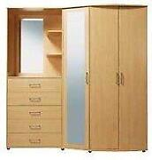 Bedroom Wardrobes with Mirror