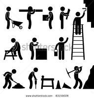 Hiring general labourer renovation property maintenance cash pay