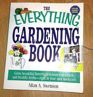 The everything Gardening book for sale