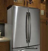 -AMAZING DEAL GE Profile, Fridge french door stainless steels 28