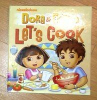"Dora and DIego ""let's Cook"" book for sale"
