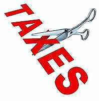 Taxes professionally prepared & e-filing from 25 dollars