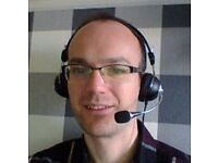 English lessons on Skype with a native speaker (free trial)