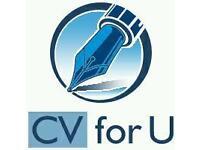 """Gold medal CV writing by """"CV for U"""""""