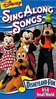 Disneyland sing a long songs- it's a small world VHS