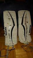 Pads jambieres Goaler Vaughn YT 24 + 1.5 Gardien de but hockey