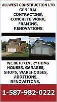 FRAMING CREW, BASEMENT CREW, WE DO WE DO ALL GENERAL CONTRACTING