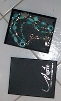 Jade and silver necklace for sale London Ontario image 1